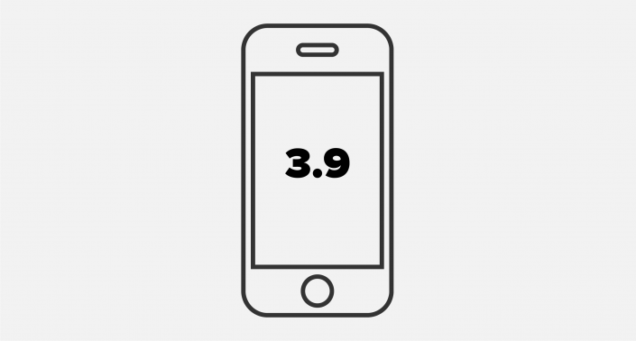 Graphic of smartphone with Anyline OCR SDK Release 3.9